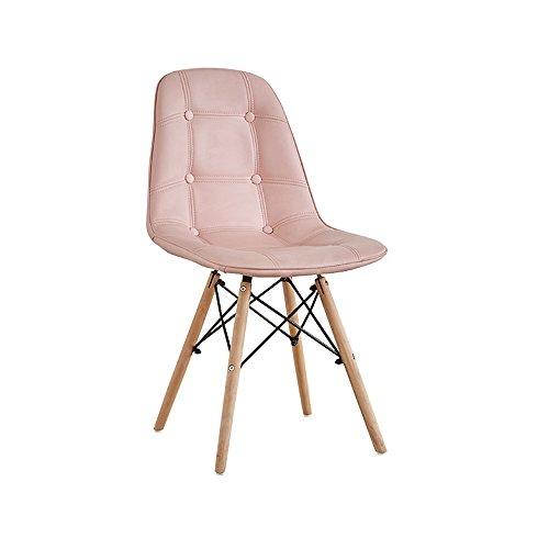 Kunstlederstuhl/europäischer Computerstuhl/Rückenlehne Stuhl für Erwachsene/Restaurant Stuhl aus massivem...
