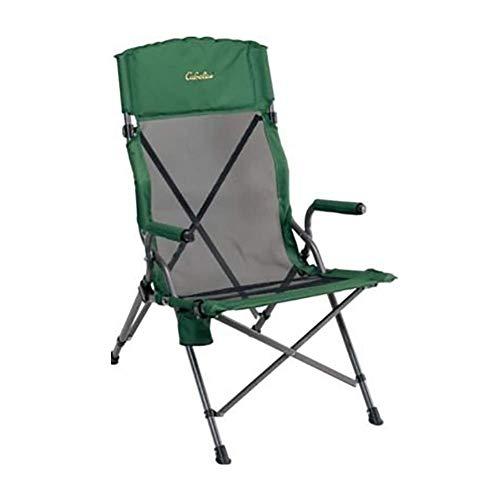 Hxx Tragbarer faltender kampierender Stuhl, grüner Faltbarer Fischen-Picknick-Strand-Garten-Patio-Möbel-Sitz,A - Sling Patio Möbel