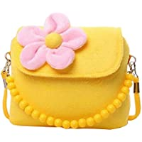 Black Temptation Pretty Kids Bolso de Hombro Bolso Crossbody Mujeres Bolso de Color Amarillo - Peluches y Puzzles precios baratos