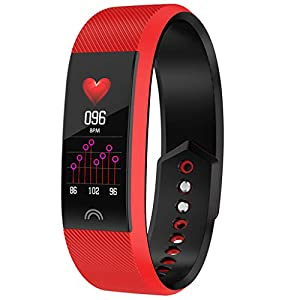 Chenang F6 Smart Armband,Bluetooth Smartwatch, GPS-Fitness-Smartwatch für Herren Damen,Sports Watch,Kompatibel Uhr für iOS Android stilvolles Design Smart Uhr