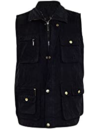 Premium Quality Mens Multi Pocket Vest Waistcoat Jacket Top For Fishing Hunting Hiking Safari Gilet Waistcoat