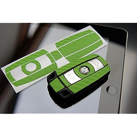 Pellicola Carbonio 3d Gruen verde per vostra chiave dal BMW E60E61E65E81E90E91E92E93E83x1x3x5Z4Serie 13567di Wizuals - Ancora Una Volta Serie