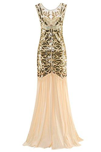 Metme Frauen der 1920er Jahre Perlen Pailletten Vintage Classic ...
