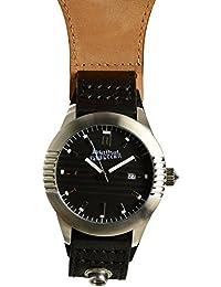Jean Paul Gaultier 8502501 - Reloj de pulsera para hombre, negro / plata