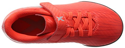 adidas X 16.4 Tf J H&L, Chaussures de Foot Garçon Rojo (Rojsol / Plamet / Roalre)