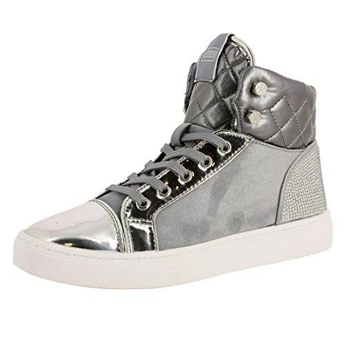 Guess ,  Sneaker Donna Grigio