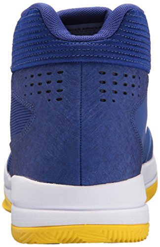 Under Armour UA Jet Mid, Scarpe da Basket Uomo Blu (Formation Blue)