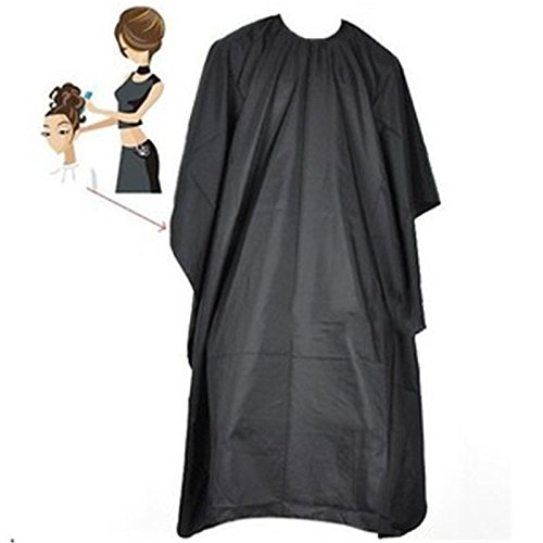 Hair Salon Cutting Adjustable Capes Barber Shampoo Cape Haircut Apron Cloth by Aquiver