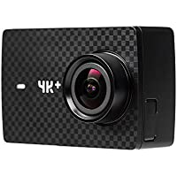 YI 4K+ Action Kamera (4K/60fps, 12MP Sensor mit 5,56 cm (2,2 Zoll) Touchscreen- EU Version) schwarz