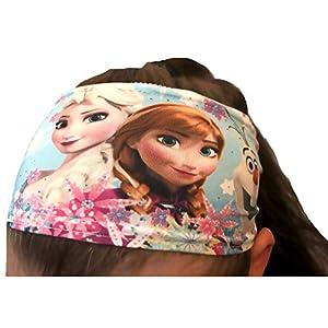 Die Eiskönigin Haarband türkis original Frozen völlig unverfroren Mädchen Haargummi Elsa + Anna + Olaf
