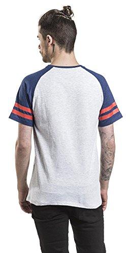 Superman Athletics T-Shirt hellgrau meliert/dunkelblau meliert hellgrau meliert/dunkelblau meliert