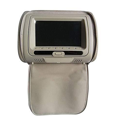 Simshew Auto-Multimedia-Player Auto-Kopfstützen-Video-Player, 7-Zoll-HD-Display, DVD-Player, Auto-Kopfstützen-Monitor mit MP3, Spiel, USB- / SD-Lesegerät, FM-IR-Sender for Unterhaltung auf Reisen