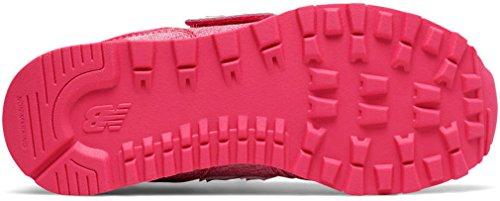 New Balance Kv574, Sneakers Mixte enfant Heather Pink/White