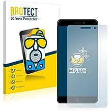 2x BROTECT Protector Pantalla para Elephone P9000 - Mate, Película Antireflejos