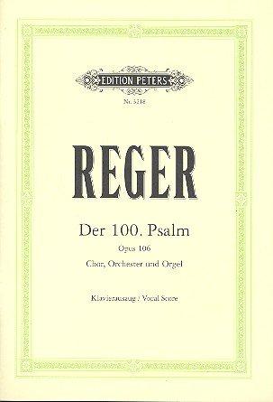 Psalm 100 Op 106. Klavierauszug