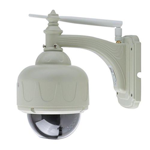 NICEAO Professionelle Wifi/Wlan IP Überwachungskamera IR Cut Sicherheitskamera Wasserdicht/720P/1.MP CMOS mit 3 optischem Zoom/Nachtsicht/E-mail Benachrichtigung für indoor- und Outdoor Sicherheitsüberwachung