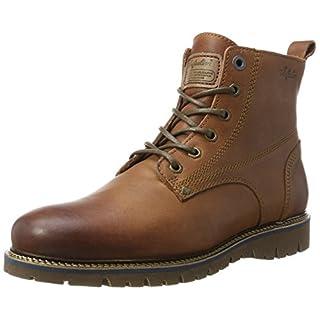 Australian Herren Everest Leather Hohe Sneaker, Braun (Cognac), 42 EU