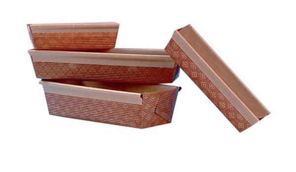 Cuisine : Usage Unique moules Moules optima cake Cuisineonly 30-40 unit/és 40 moules dimensions fond 200X80mm hauteur 70mm