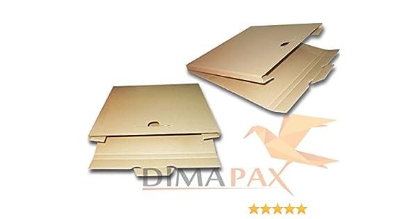 LP Livraison 50/Cartons 325/x 325/x 13/mm pour 1 3/vinyle vinyles 12/Inch dimapax