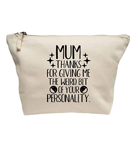 Flox Creative Make-up-Tasche Mum Love More Than Halloumi