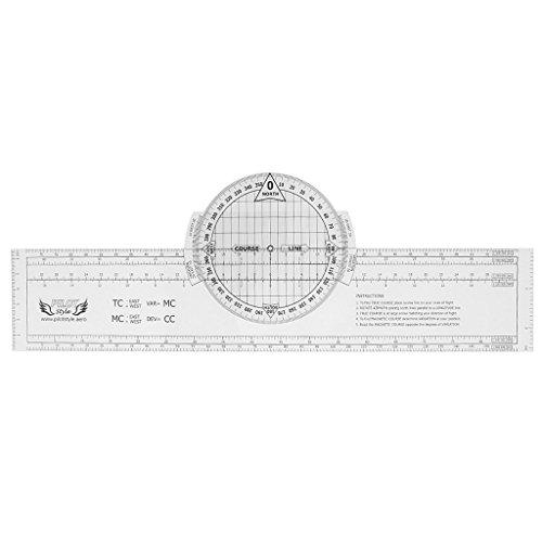 Drehbar Plotter von Kunststoff-Steuerung der Versorgung von Navigation DIY  33,5x 6cm