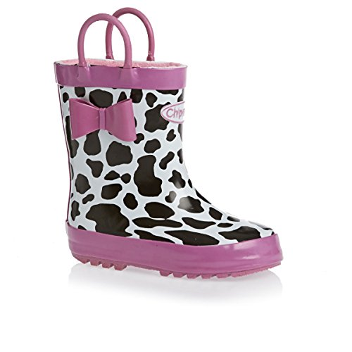 Chipmunks  Shelby, Bottes fille Black, Pink, White & Anim