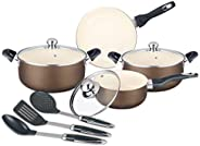 Sweets Homes 10Pcs Aluminum Cookware Set- SH356