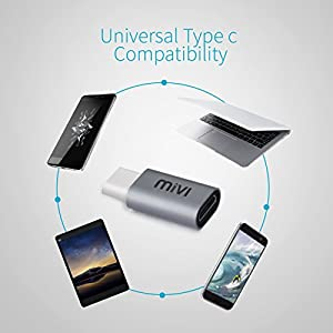 Mivi Type-C to Micro USB OTG adapter For Smartphones And Other Type-C OTG supported Devices
