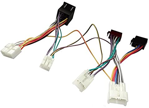 Aerzetix–Car Radio Cable for KML Parrot Handsfree Car Kit for Auto Car