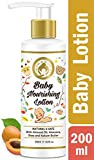 #10: Mom & World Baby Nourishing Lotion - With Almond Oil, Aloevera, Shea & Kokum Butter - 200ml