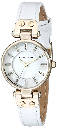 anne-klein-womens-ak-1950mpwt-gold-tone-watch-with-white-leather-strap