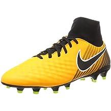 Nike Jr. Magista Onda II DF FG, Chaussures de Football Mixte Enfant, Bleu (Light Armory Blue/Armory Navy-Armory Blue), 36.5 EU