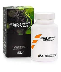 GREEN COFFEE (Svetol®) + Thé vert * Efficacité prouvée cliniquement * 400 mg / 60 gélules végétales * Puissant brûleur de calories * Au-delà d'une simple perte de poids, SVETOL® remodèle votre silhouette !