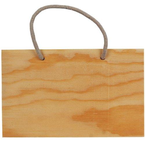 Country love crafts - cartello in legno rettangolare, da appendere, colore: marrone chiaro