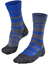 FALKE Tk5 Stripe - Calcetines de Trekking para Hombre, Primavera/Verano, Calcetines, Hombre, Color Yve (6714), tamaño 44-45