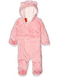 Pumpkin Patch Baby Girls' Furry All-In-One Footies