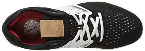 New Balance Men's L3000V3 Baseball Shoe Schwarz / Weiß