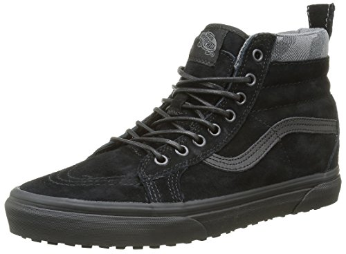Vans Sk8-Hi Mte, Baskets Basses Mixte Adulte Noir (MTE black/black/camo)