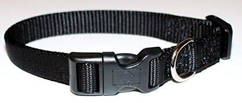 ecco-sport-collier-pour-chien-vario-basic-en-nylon-noir-taille-xs-10-sans-reducteur-de-tension