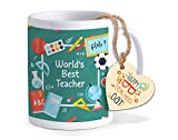 Best Teacher  Mug - TIED RIBBONS Teachers Day Gift World's Best Teacher Review