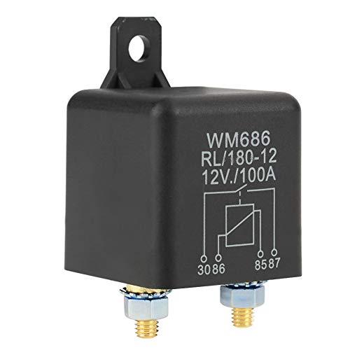Relè 12v Avviamento Normale Per Avviamento Automatico Da 100a Relè Per Controllo On/Off Batteria