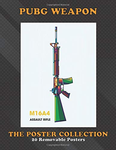 Poster Collection: Pubg Weapon Pubg M16a4 Assault Rifle Popart I Make This Artwork F Colorful