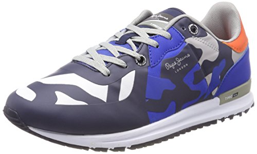 Pepe Jeans Tinker Pro Seal Camu, Sneakers Basses Homme