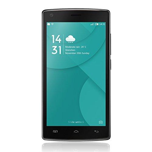 LESHP Doogee X5 Max Pro -Smartphone Móvil 4G Android 6.0 (Pantalla 5.0'' IPS, 16G Rom, 4000mAh, Dual Sim, Grande Batería, Dual ID, Smart Wake, 8MP+8MP Cámara, MT6737M Quad Core 1.3GHz, 2G Ram, E-Compass) Huella Dactilar Movil, 5 Pulgadas Smartphone with HD LCD, Smartphone Libre Negro