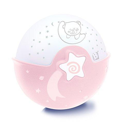 Infantino Sanftes Licht & Projektor, Nachtlicht, rosa