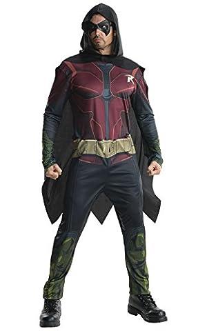 Arkham Robin Costumes - Rubie's Déguisement pour homme Robin Batman Arkham,