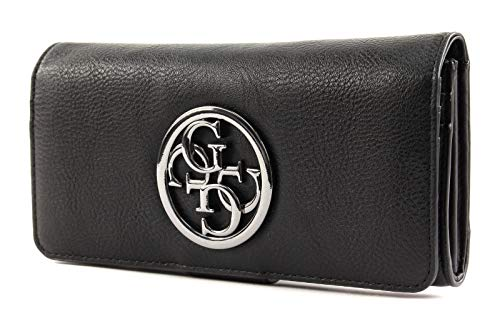 Guess - Geldbörse ALANA File Clutch black, VM709459