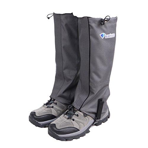 8035f4c3900067 Triwonder Schnee Bein Gamaschen wasserdichte Stiefel Gamaschen Wandern  Wandern Klettern Jagd Radfahren Leggings Cover (1 Paar) (Grau