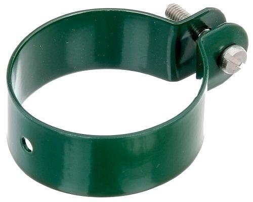 Preisvergleich Produktbild GAH-Alberts 655242 Schelle für Streben, grün kunststoffbeschichtet, Loch: Ø7 mm, Schraube: M6 x 30 mm, Ø60 mm