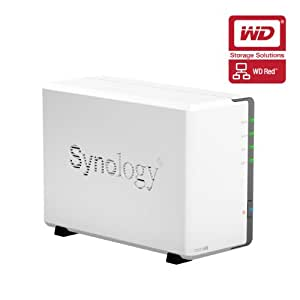 Synology DS213AIR 6TB (2 x 3TB WD Red) DiskStation 2 Bay Desktop NAS